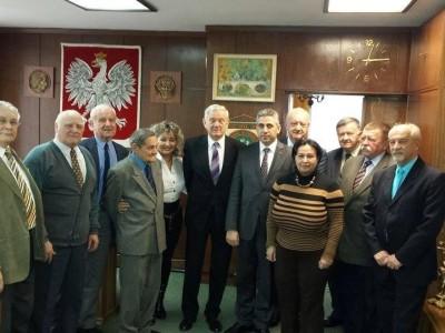 JE Ambasador Armenii w Domu Przyjaźni