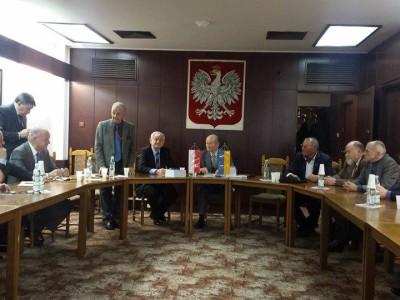 """Wizyta pisarzy ukraińskich w """"Domu Przyjażni"""""""