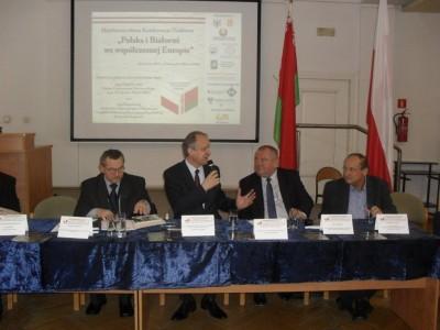 Relacje Polsko – Białoruskie tematem dyskusji naukowców i praktyków
