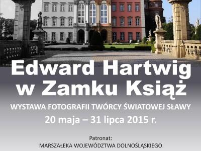 Edward Hartwig w Zamku Książ