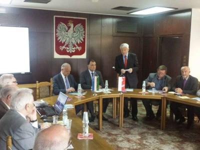 Wizyta szefa Ambasady Uzbekistanu w Domu Przyjaźni