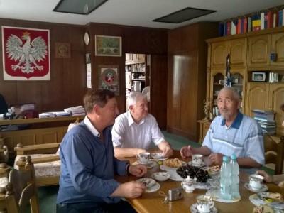 Z dalekiego Kazachstanu na mogiłę Brata