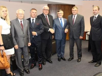 Ambasador Republiki Mołdowy po raz kolejny odwiedził Opolszczyznę