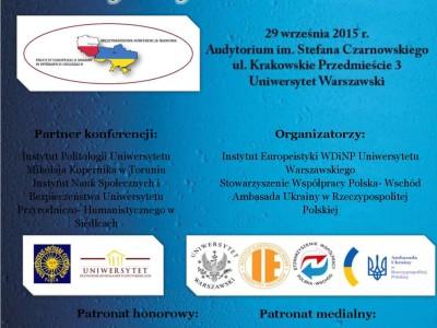 Procesy europeizacji Ukrainy w wybranych obszarach
