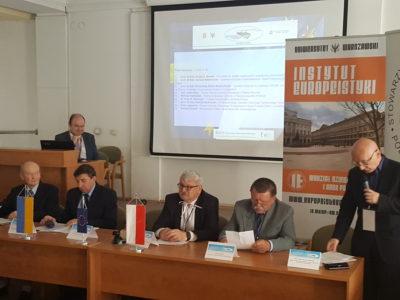 """Konferencja naukowa """"Ukraina na drodze do Unii Europejskiej z perspektywy doświadczeń polskiej transformacji"""""""