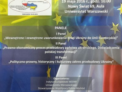 Ukraina na drodze do Unii Europejskiej z perspektywy doświadczeń polskiej transformacji