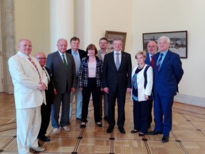 Spotkanie w Ambasadzie