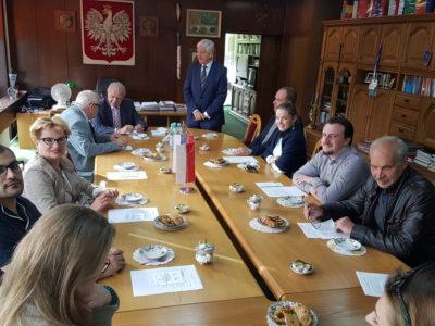 """Wizyta delegacji MGIMO w """"Domu Przyjaźni"""""""